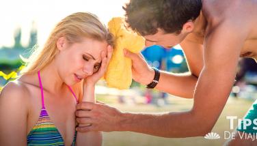 Cómo cuidarse de la insolación en la playa