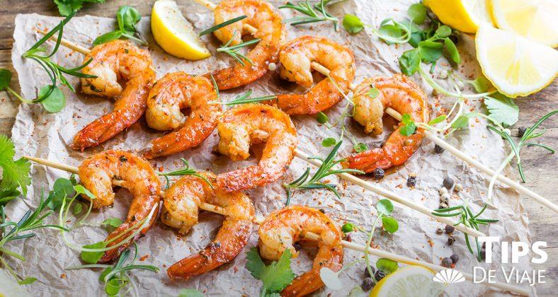 Pescado y camarones embarazados el mejor snack de Puerto Vallarta