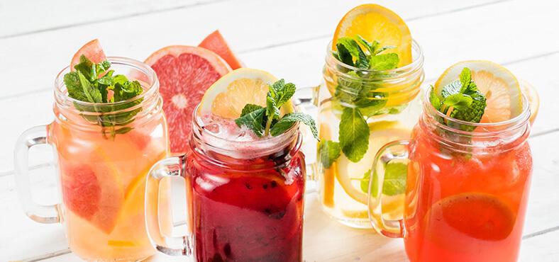 Bebidas para acompañar tu snack