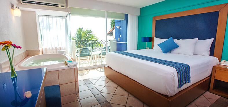 Un descanso reparador en Crown Paradise Golden Puerto Vallarta