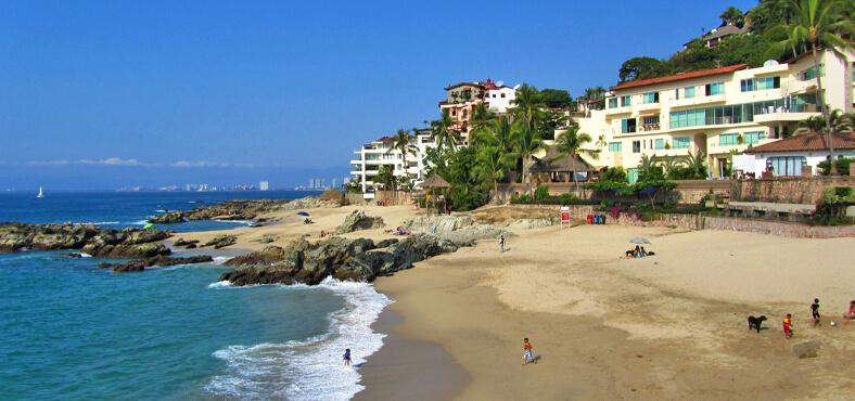Playa Conchas Chinas en Puerto Vallarta