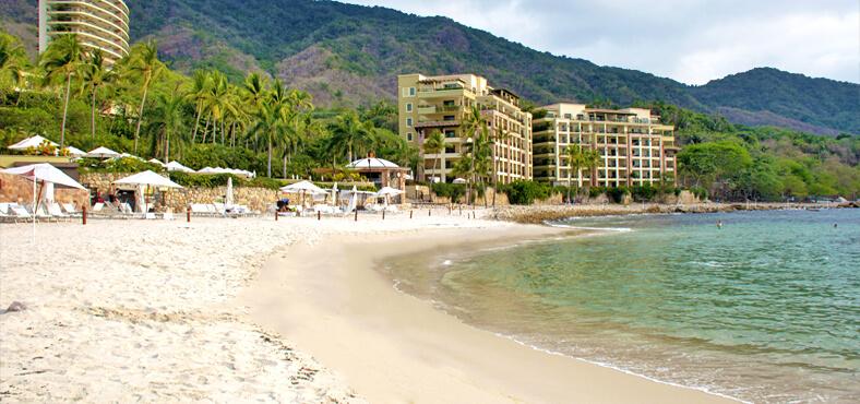 Playa la Garza Blanca en Puerto Vallarta